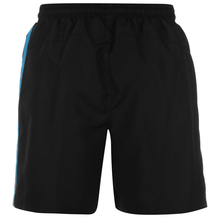 Шорты Lonsdale Two Stripe Woven Shorts Mens черные