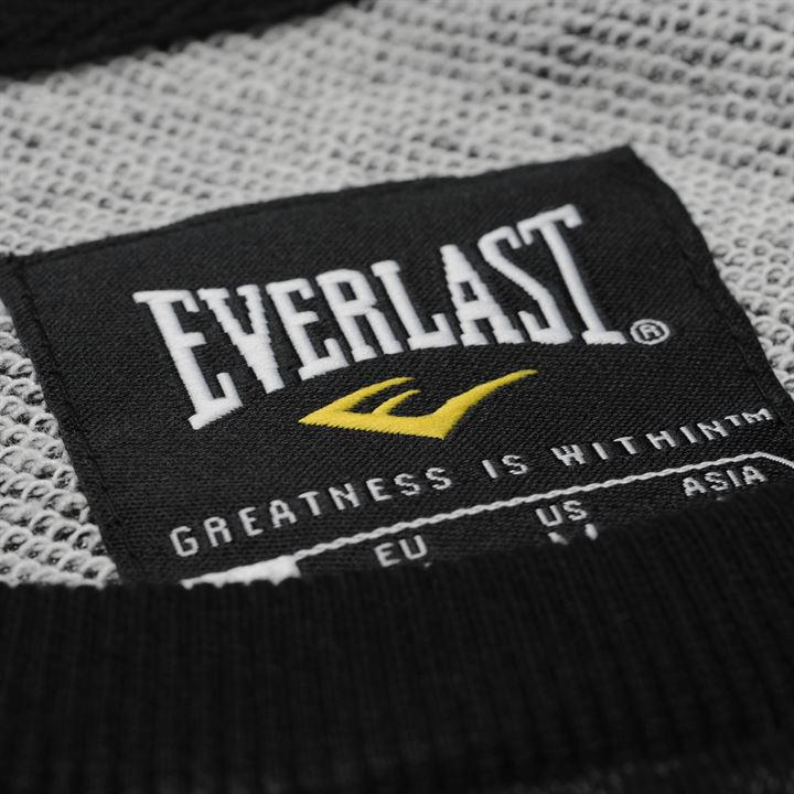 Толстовка Everlast Boston Sweatshirt Mens черная