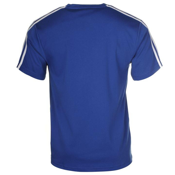 Футболка Lonsdale 2 Stripe Short Sleeve T Shirt Mens синяя