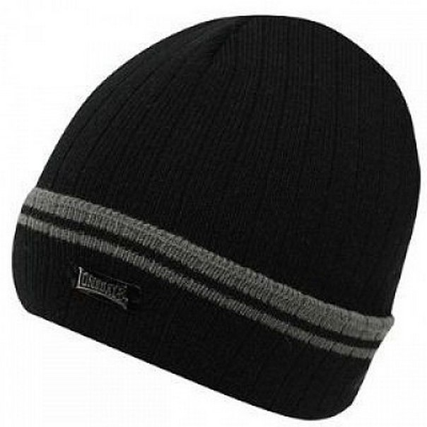 Шапка Lonsdale Turn Up Hat24 black