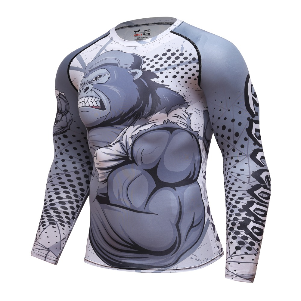 Рашгард Coce long sleeve gorilla