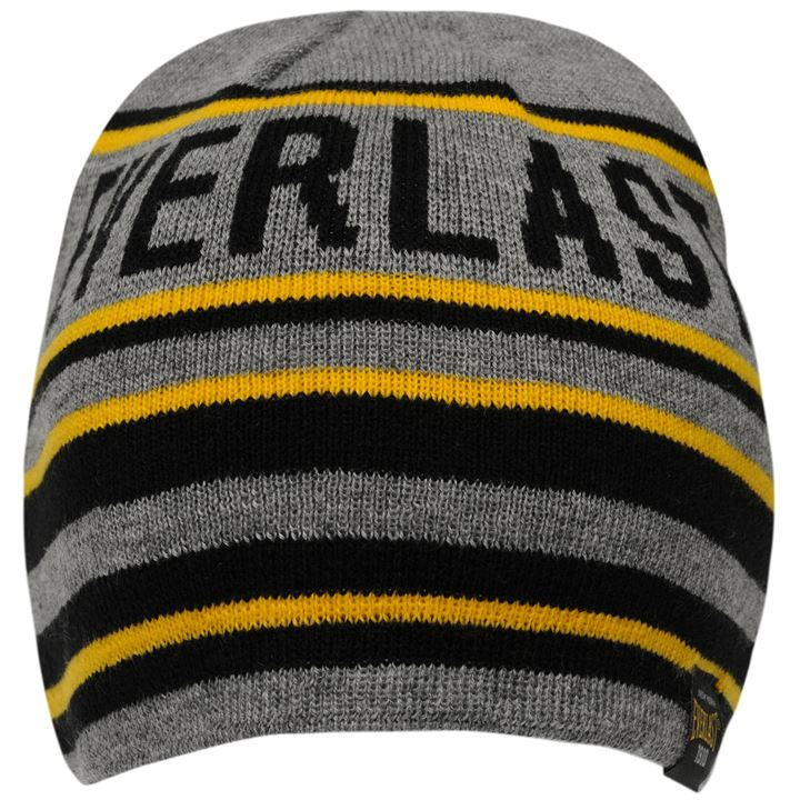 Шапка Everlast Belt Beanie Hat Mens серая