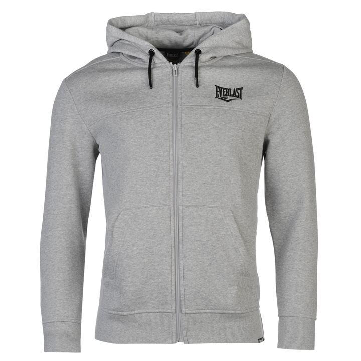Толстовка Everlast Zip Hoody Mens серая