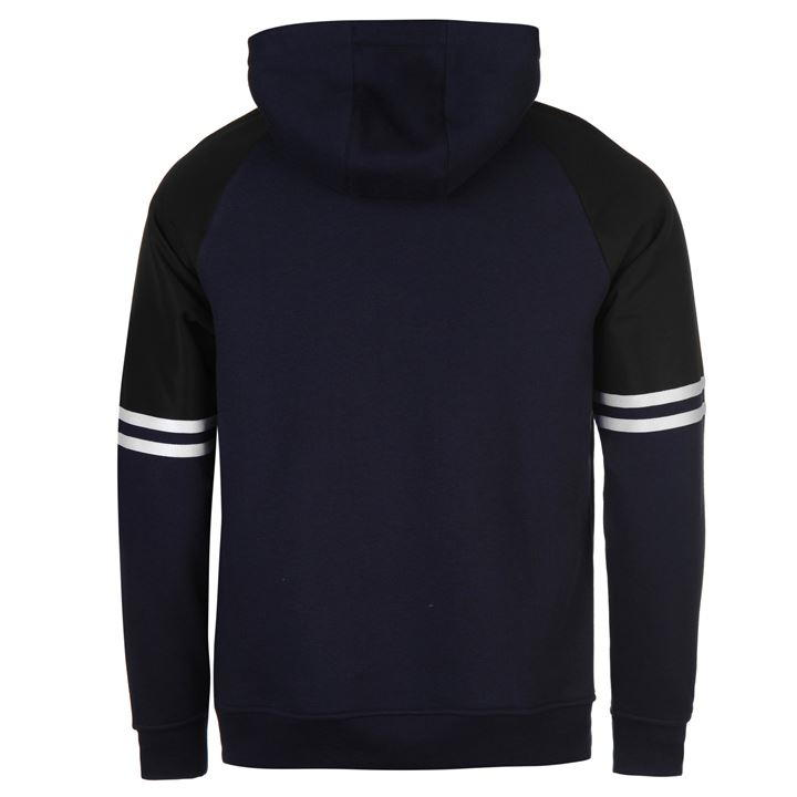 Толстовка Lonsdale Heavy Over The Head Hoody Mens синяя