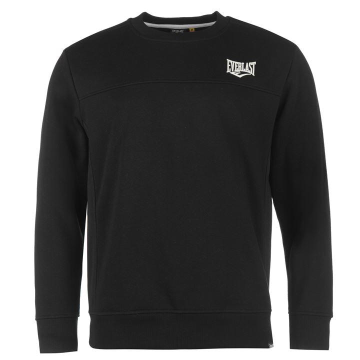 Свитер Everlast Crew Sweater Mens черный