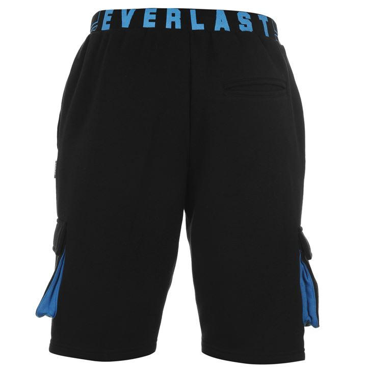 Шорты Everlast Roy Sweat Shorts Mens чёрные