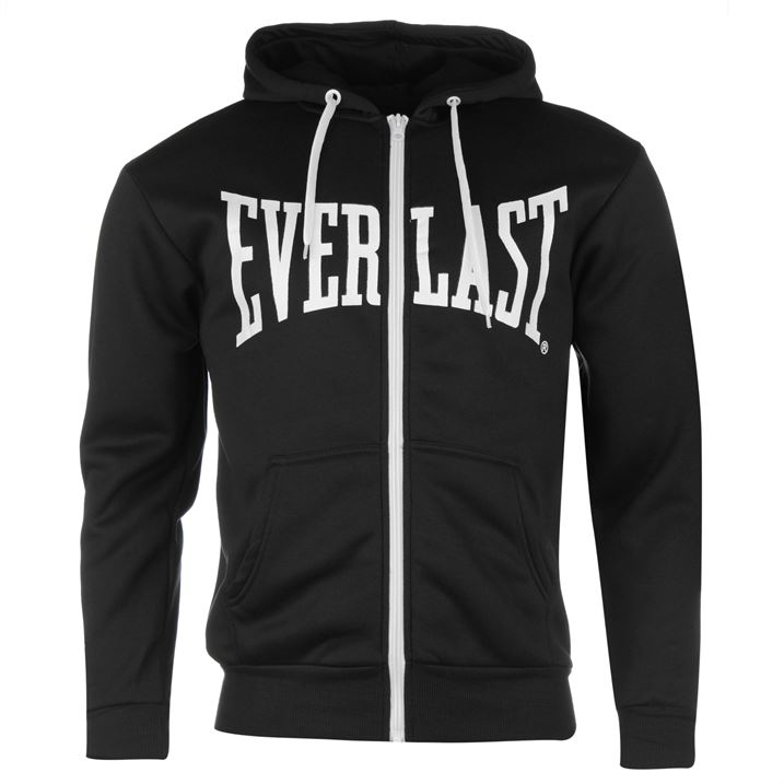 Толстовка Everlast Zip Hoody SnC99 черная